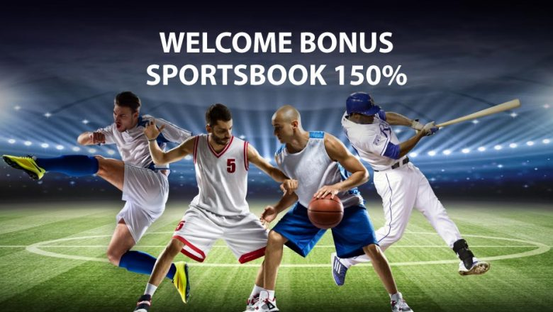 WELCOME BONUS SPORTSBOOK 150%